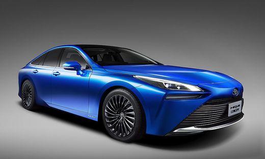 Ausblick auf die zweite Generation — Toyota Mirai Concept