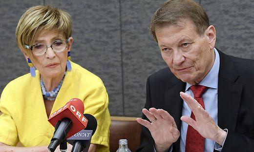 Ingrid Korosec (Seniorenbund) und Peter Kostelka (Pensionistenverband): Ansonsten meist über alle Parteigrenzen hinweg einer Meinung