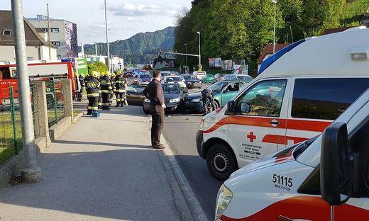 Rettungseinsatz in Bruck