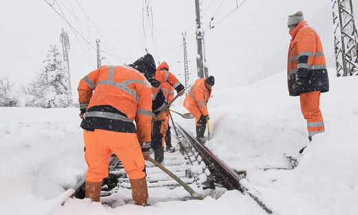 Winterwetter Viele Bahnstrecken Bleiben Gesperrt Kleinezeitungat