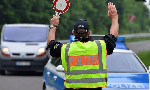 Verkehrskontrolle zur EM