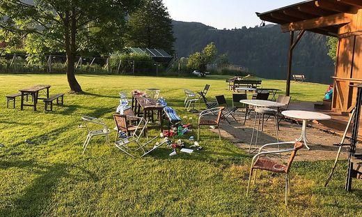 Chaos und Schrecken richtete ein 57-Jähriger auf diesem Campingplatz an