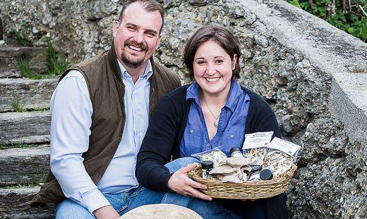 Pilze statt Schweine: Michael und Sabine Jäger hatten Mut zur Innovation