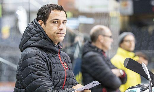 SC Bern-U20-Trainer Mario Kogler