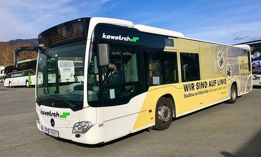 Ab 9. November wird auch dieser Bus auf den Linien des neuen Taktverkehrs unterwegs sein