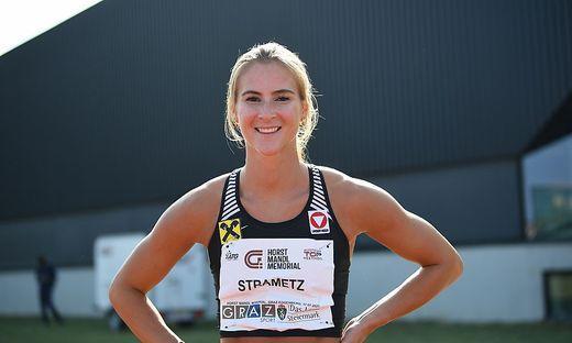 Hürden zu überwinden gehört für Karin Strametz zum Alltag