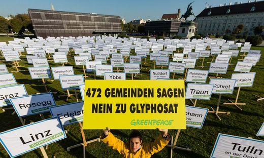 Greenpeace kämpft seit geraumer Zeit gegen Glyphosat