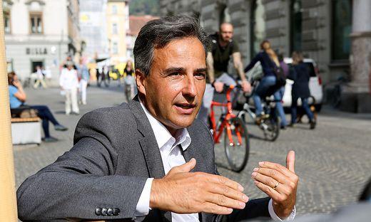 """Immer noch voller Ideen"", Stadtchef Siegfried Nagl (ÖVP)."