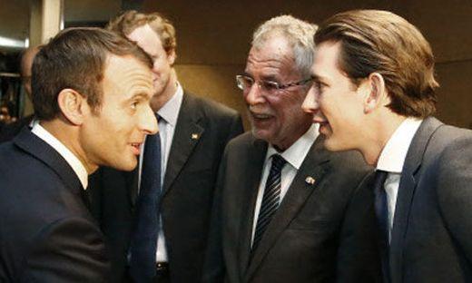 Kurz und Macron: