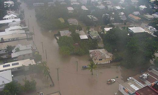 Im Nordosten Australiens droht eine Jahrhundertflut