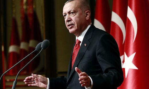 Erdogan präsentiert seine Raketenpläne