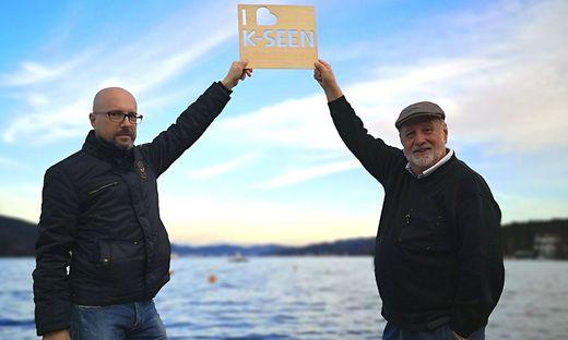 Die Initiatoren: Gerhard Godescha und Walter Polesnik