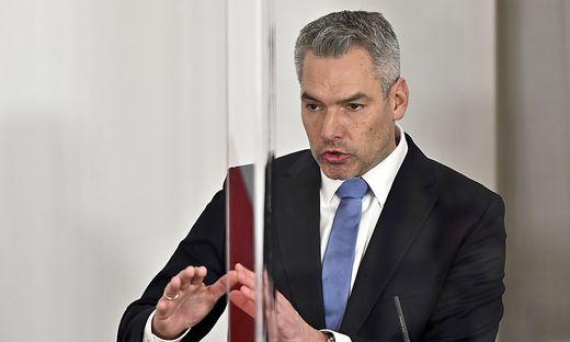 Muss aufräumen im Innenministerium: ÖVP-Minister Karl Nehammer