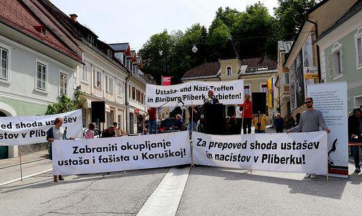 Die Kundgebung im Rahmen eines Kulturprogrammes verlief friedlich