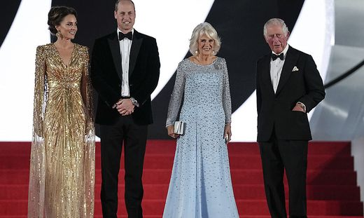 Premierengäste: die britischen Royals