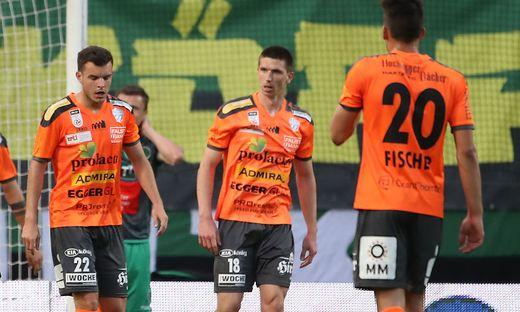 Sportlich läuft es für Hartberg, die Lizenz für die höchste Spielklasse wurde nun allerdings auch in zweiter Instanz verweigert