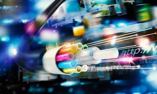 Glasfaserleitungen sind ein Weg, um schnelles Internet in die Betriebe zu bringen