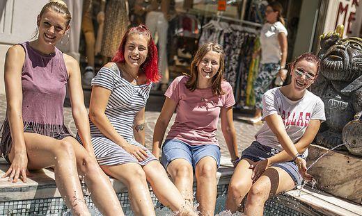 Hitze Klagenfurt Juni 2019
