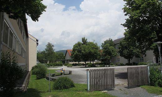 Die Kanalrohre der Schule mussten bereits von der Gemeinde erneuert werden