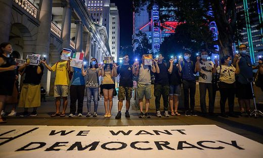 FILES-HONG KONG-CHINA-POLITICS-CRIME-UNREST