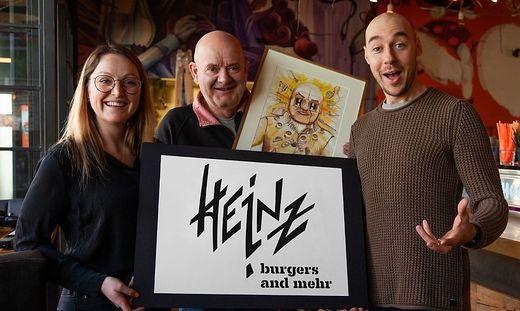 Christine und Heinz Krenn mit Tom Lohner