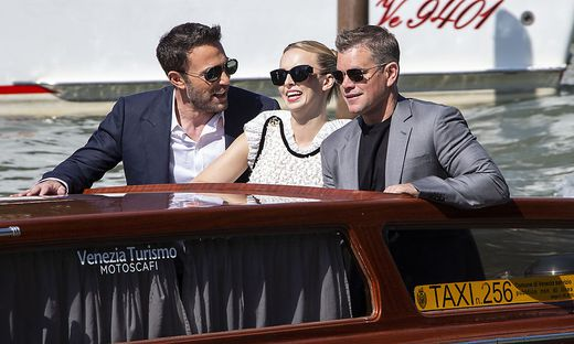 Matt Damon, Jodie Comer, Ben Affleck