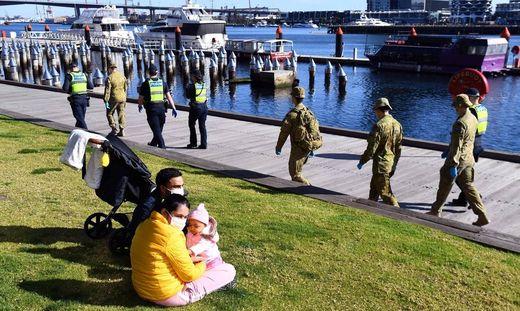 Mit strengen Einschränkungen reagiert Melbourne auf die zweite Coronawelle