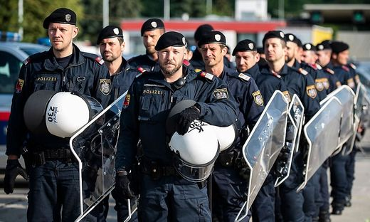AUSTRIA-POLITICS-MIGRATION-SECURITY-EXERCISE-BORDER