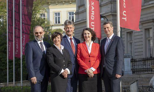 TU Graz, Team Rektoren
