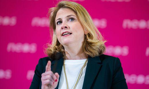 Neos-Parteichefin Beate Meinl-Reisinger
