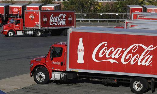 Bei Coca-Cola laufen die Geschäfte auf Hochtouren
