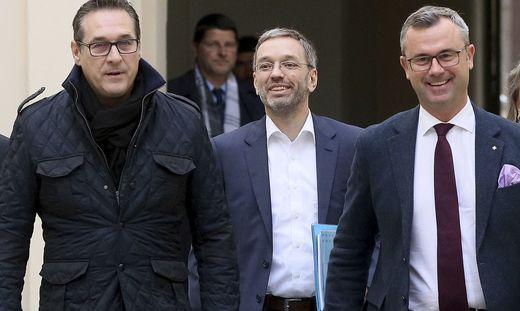 Strache, Kickl, Hofer