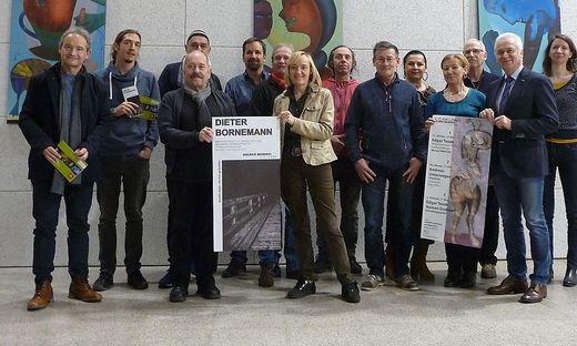 Das engagierte Team von LeibnitzKULT präsentierte seine Vorhaben für das Jahr 2020