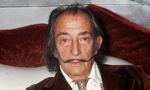 Salvador Dali verstarb 1989