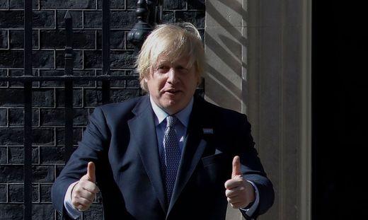 Ohne Superlativ geht es für Boris Johnson auch nach einem Jahr in Downing Street No. 10 nicht.