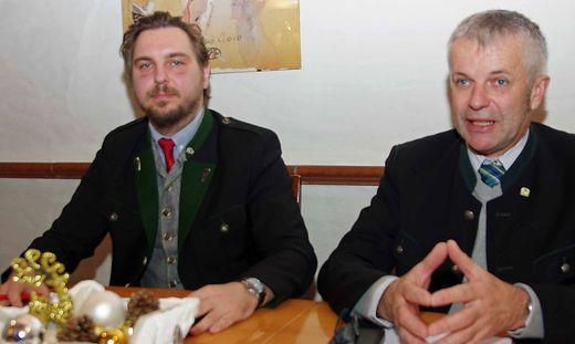 Markus Lindner und Andreas Handlos wollen eine stärkere ÖVP im Gemeinderat