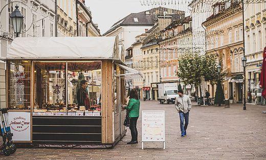 Der Süßigkeitenstand am Alten Platz