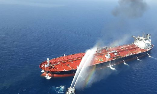 Explosion auf iranischem Öltanker im Roten Meer