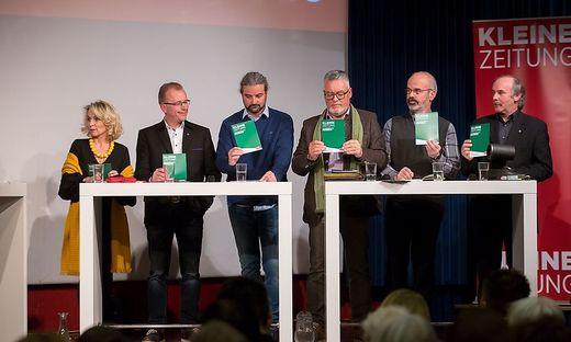 15.02.2018 - Podiumsdiskussion Kleine Zeitung-Lienz