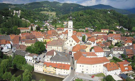 Bezirkshauptstadt Wolfsberg