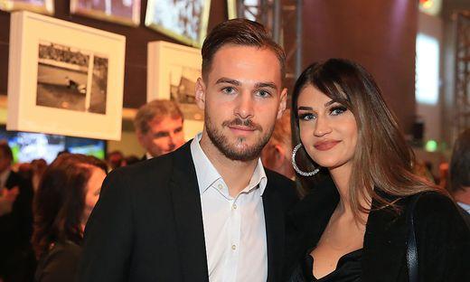 Lukas Spendlhofer und Ehefrau Jacqueline