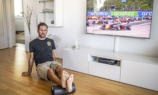 Sandro Zakany in seinen vier Wänden