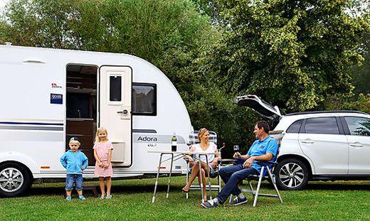 Die meisten Campingfahrzeuge werden gebraucht gekauft