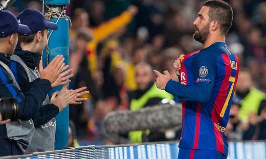 SOCCER - CL, Barcelona vs Gladbach