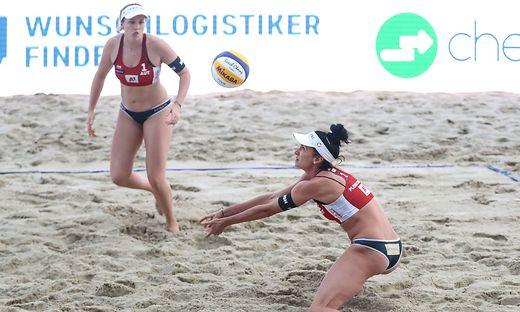 Katharina Schützenhöfer und Lena Plesiutschnig