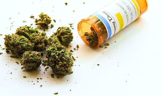 Schmerzmittel Cannabis