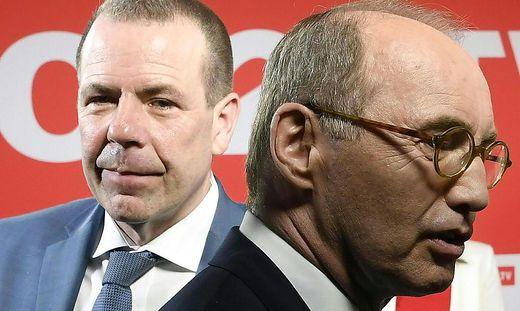 EU-WAHL: HAUS DER EU: VILIMSKY / KARAS