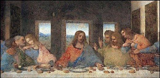 """Das """"Letzte Abendmahl"""" von Leonardo da Vinci"""