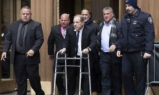 Harvey Weinstein willigte in Entschädigung für Frauen ein