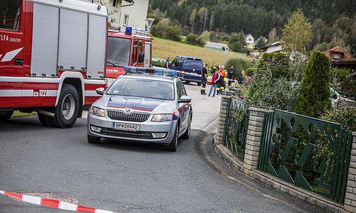 Am Dienstag detonierte die Paketbombe vor dem Wohnhaus in Guttaring